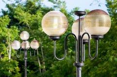 Street lamp close up Stock Photos