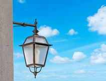 Street lamp close up Royalty Free Stock Photography