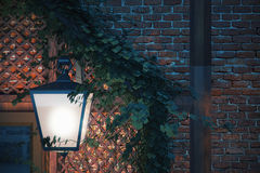 Street lamp closeup Royalty Free Stock Photography