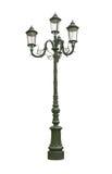 Street lamp cutout Royalty Free Stock Photo