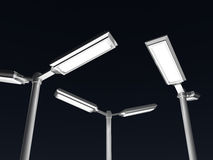 Street lamp 3D rendering Stock Image