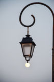 Street lamp in the evening Stock Photos