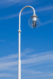 Street lamp in front of blue sky Royalty Free Stock Photo