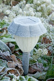 street lamp frosted Royalty Free Stock Photos