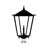 Street lamp icon image Stock Photos