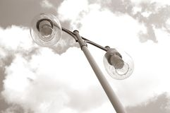Street lamp II. Street lamp against sky Royalty Free Stock Photography