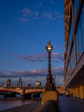 Street lamp in London Royalty Free Stock Photos