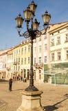Street lamp in Lviv . Stock Photo