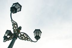 Street lamp. At malioboro street jogjakarta indonesia Stock Photos