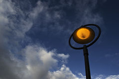 Street lamp at night Stock Photography