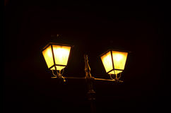 Street lamp night Royalty Free Stock Image