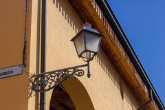 Street lamp in the old style Royalty Free Stock Images