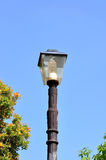 Street lamp in the old style Royalty Free Stock Photo