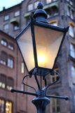 Street lamp in Oslo Royalty Free Stock Image