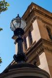 Street lamp outside the Sydney Hospital, New South Wales, Australia Stock Photos