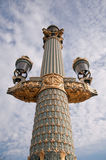 Street lamp in Paris Royalty Free Stock Photos