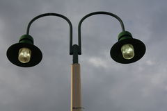 Street lamp. A picture of a street lamp fixture royalty free stock photography