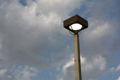 Street lamp. A picture of a street lamp fixture Royalty Free Stock Photos