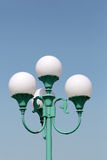 Street lamp post Stock Photography