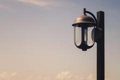 Street lamp post Stock Photo
