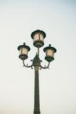 Street lamp post Royalty Free Stock Image