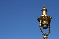 Street Lamp in Retiro Stock Images