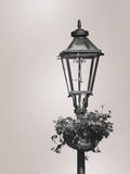Street lamp. Retro look. Royalty Free Stock Photo