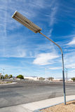 Street lamp on the road Royalty Free Stock Images