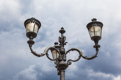 Street lamp in Rome Royalty Free Stock Photography