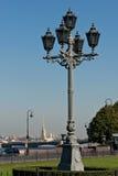 Street lamp in Saint Petersburg Royalty Free Stock Images