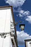 Street Lamp in Serpa, Portugal Royalty Free Stock Images