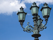 Street lamp in the sky Royalty Free Stock Photos