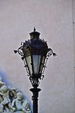 Street lamp in Sopron. Street lamp near Fire Tower in Sopron, Hungary Royalty Free Stock Photo
