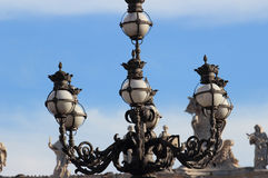 Street lamp in St Peter square Stock Images