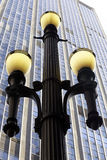 Street lamp, symbol of Sao Paulo Royalty Free Stock Photo