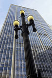 Street lamp, symbol of Sao Paulo Stock Photo