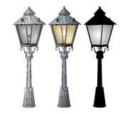 Street lamp vector Royalty Free Stock Photos