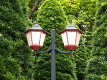 Street lamp. Vintage type street lamp in china Stock Images