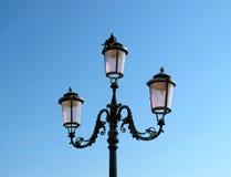 Street lamp in Venice. Street lamp vintage in Venice Royalty Free Stock Photo