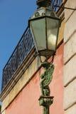 Street Lamp. Winged sphinx. Matera. Apulia or Puglia. Italy. Street lamp decorated with winged sphinx. Matera. Basilicata. Apulia or Puglia. Italy Stock Images
