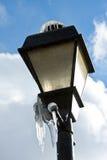 Street lamp in Winter Stock Photos