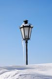 Street lamp in winter Royalty Free Stock Photography