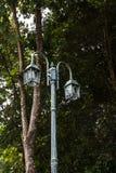 Street lamppost. In the garden Stock Images
