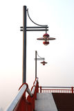 The street lamps Royalty Free Stock Photo