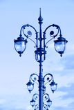 Street lamps in the art deco style Royalty Free Stock Images