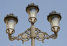 Street Lamps, Cartagena in Spain Royalty Free Stock Photo