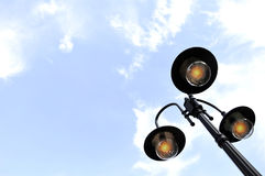 Street lamps collection, Stock Photos