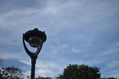 Street Lamps. Picture of a street lamp at day light Royalty Free Stock Photo
