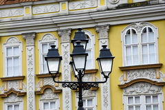 Street lamps at Union Square Royalty Free Stock Photography