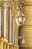 Street lamps in Vienna Stock Photo